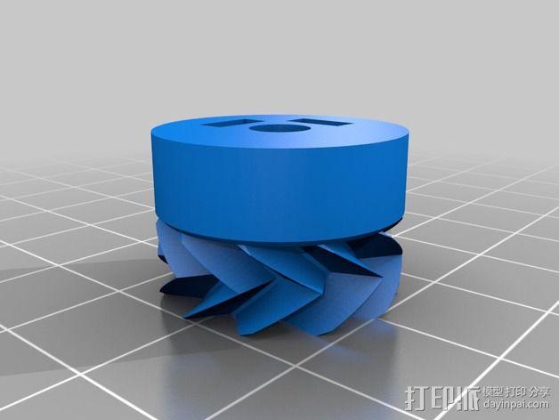Orca挤出机齿轮组 3D模型  图3