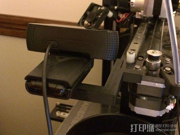 相机座  3D模型  图1