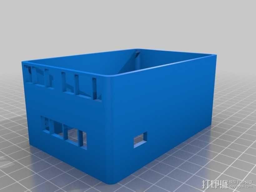Prusa i3打印机 电路盒 3D模型  图3