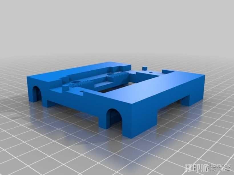 FlashForge Dreamer 打印机X轴部件 3D模型  图1
