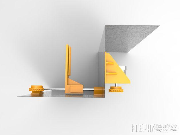 Uncia DLP 3D打印机硬件零件 3D模型  图5