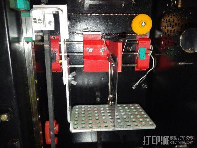Uncia DLP 3D打印机硬件零件 3D模型  图6