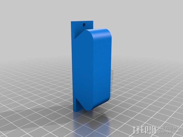 Uncia DLP 3D打印机硬件零件 3D模型  图9