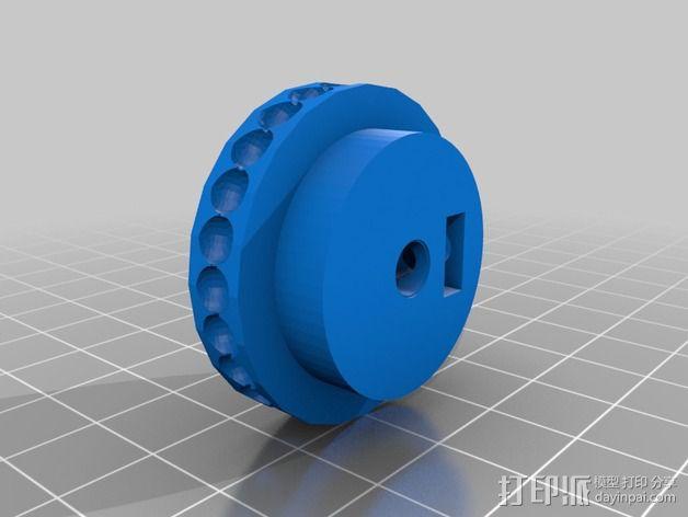 Uncia DLP 3D打印机硬件零件 3D模型  图14
