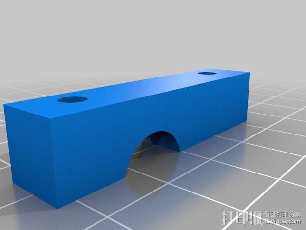 挤出机喷嘴座 3D模型  图5