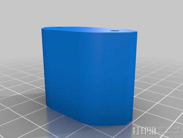 挤出机喷嘴座 3D模型  图6