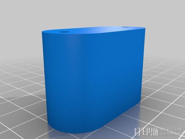 挤出机喷嘴座 3D模型  图7