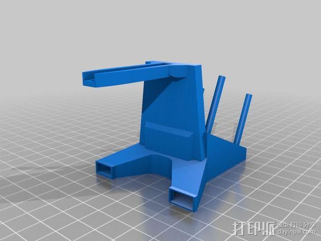 挤出机喷嘴座 3D模型  图8