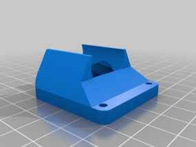 风扇通风导管 3D模型