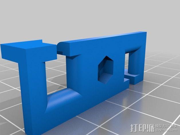 皮带张紧器 3D模型  图3