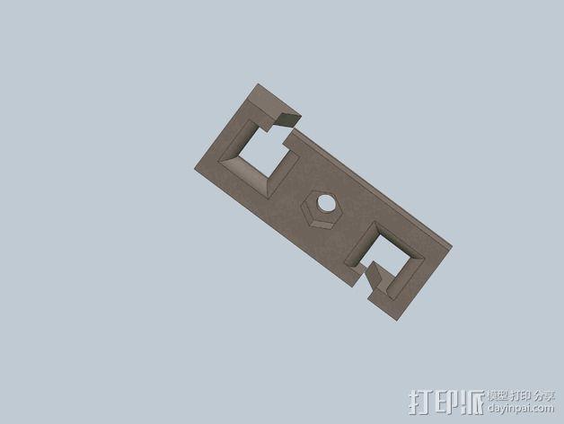 皮带张紧器 3D模型  图7