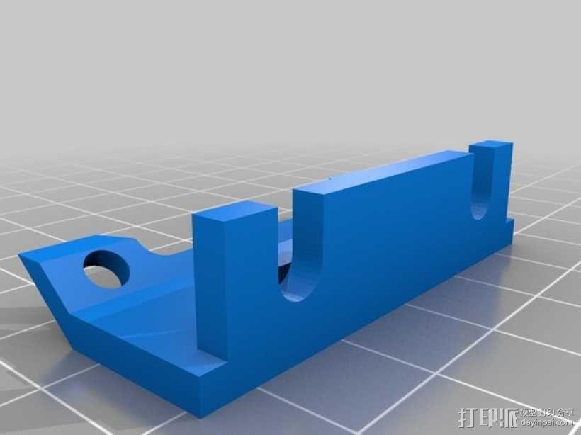 Prusa I3风扇底座 3D模型  图3