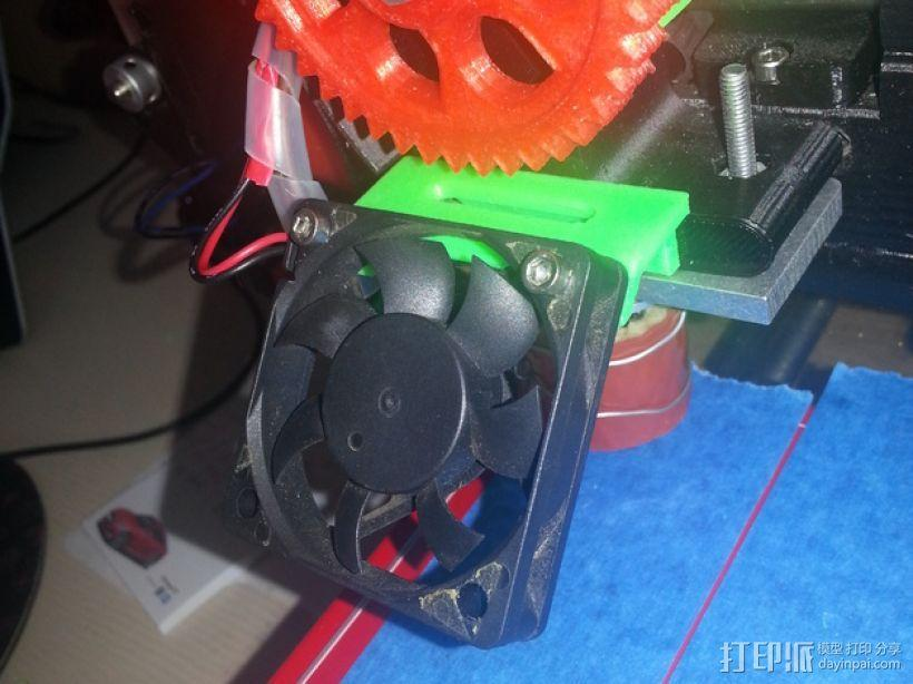 Prusa I3风扇底座 3D模型  图1