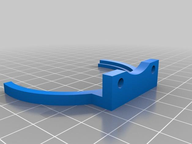 Mini Kossel LED环形灯 3D模型  图2