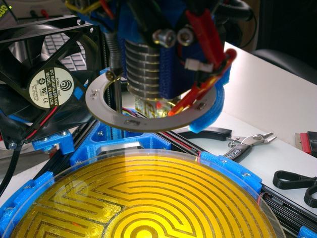 Mini Kossel LED环形灯 3D模型  图5