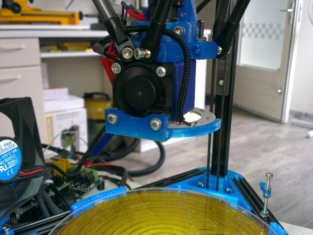 Mini Kossel LED环形灯 3D模型  图6
