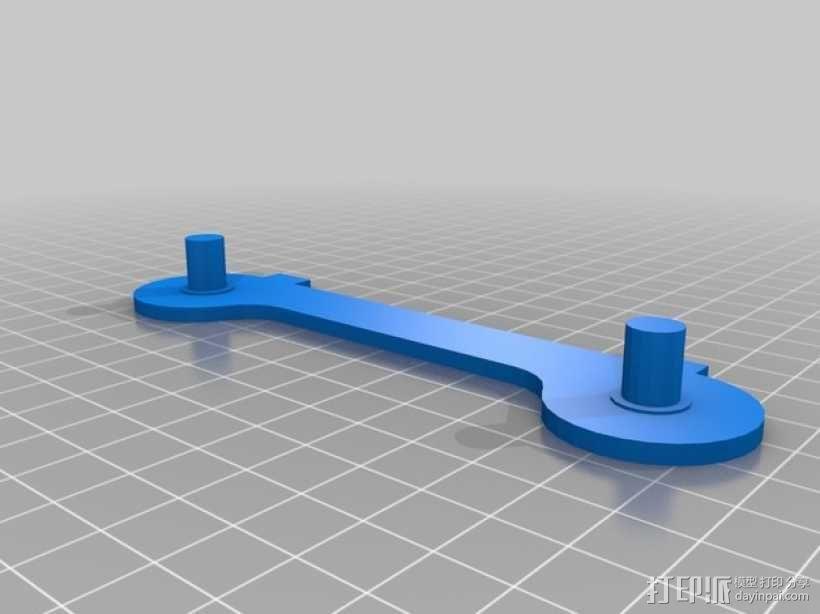 卷线架 3D模型  图4