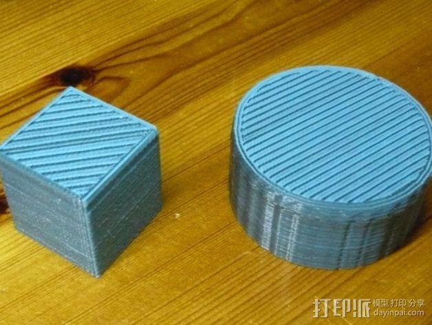 双孔导线器 3D模型  图4