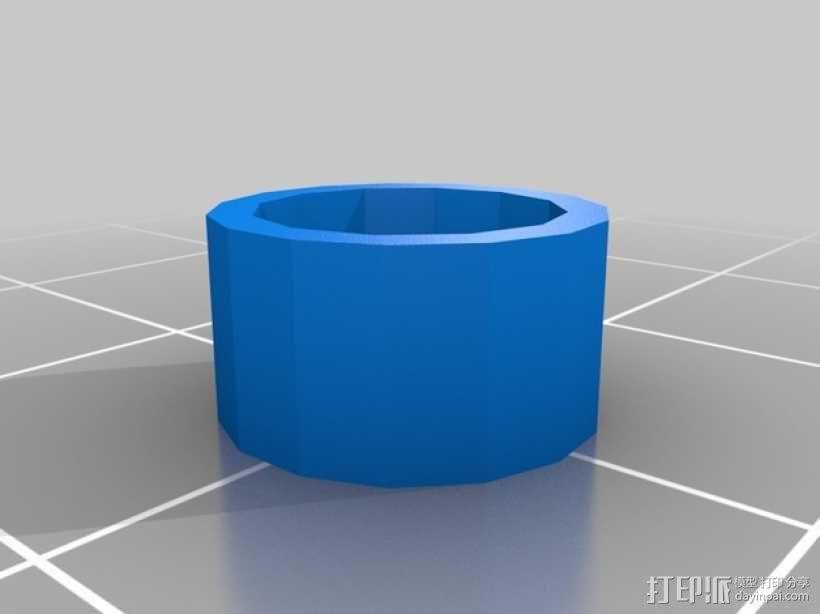 迷你卷线架 3D模型  图4