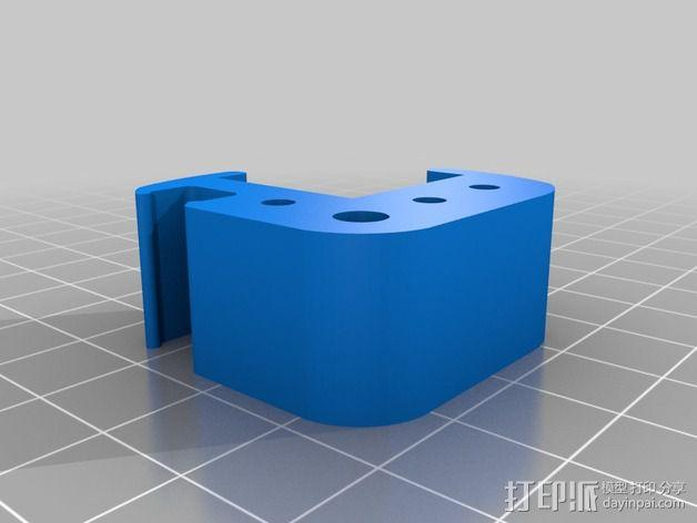 RigidBot 打印机工具架 3D模型  图2