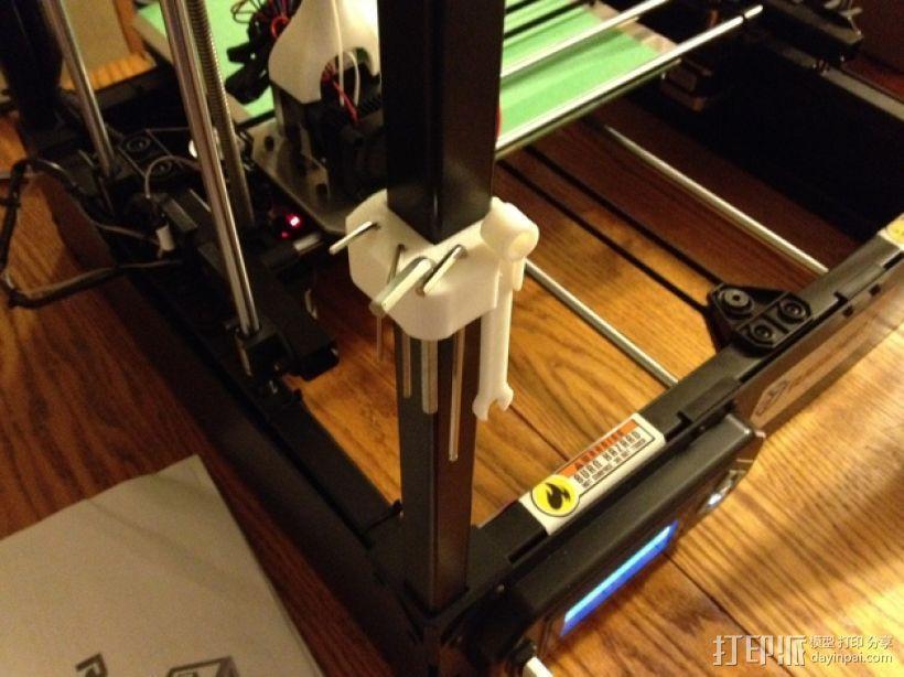 RigidBot 打印机工具架 3D模型  图1