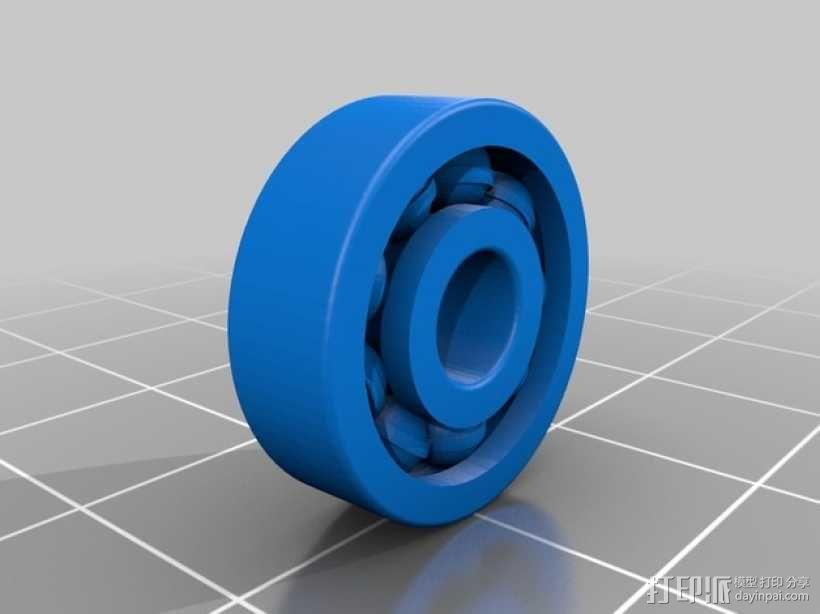 NEMA 17 步进电机滚珠轴承 3D模型  图2