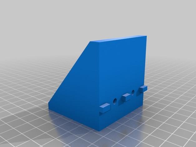 2020 NEMA17卧式支座 3D模型  图2