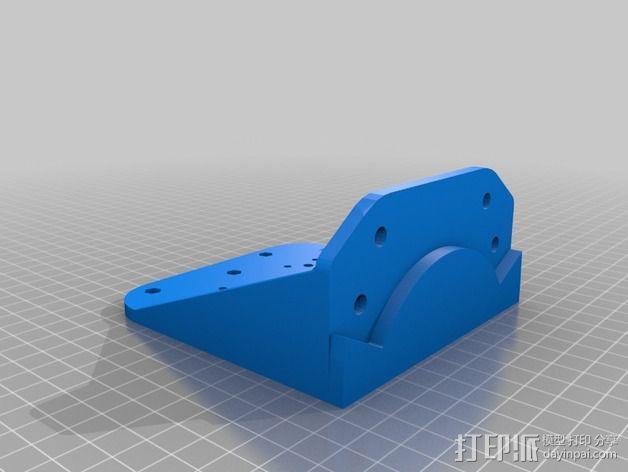 Bowden 双挤出机 3D模型  图3