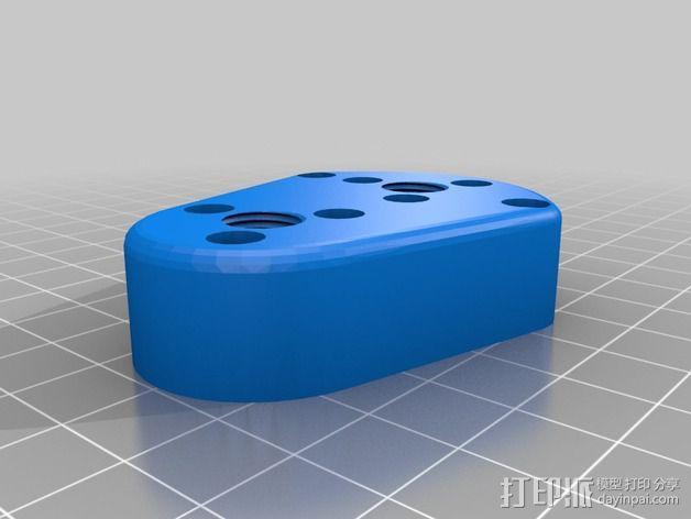Bowden 双挤出机 3D模型  图4