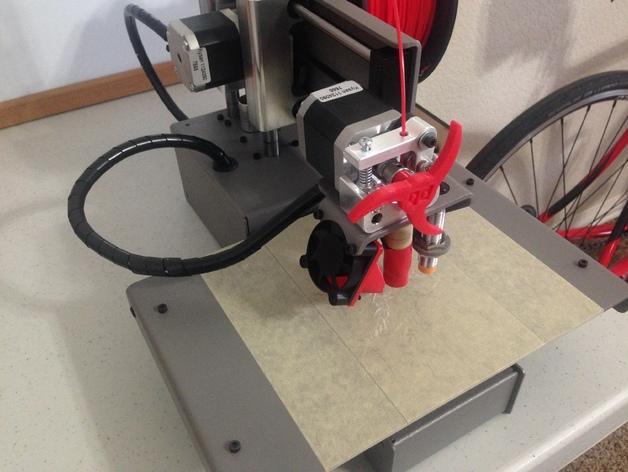 Printrbot 打印机进料轮 3D模型  图4