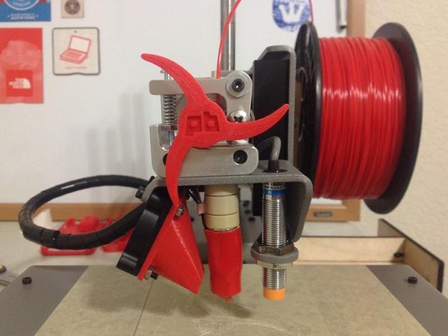 Printrbot 打印机进料轮 3D模型  图5