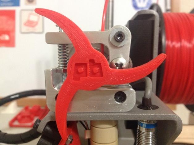 Printrbot 打印机进料轮 3D模型  图6