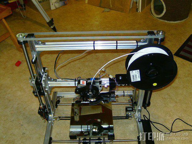 K8200 / 3Drag 打印机Y轴部件 3D模型  图1