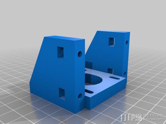 K8200 / 3Drag 打印机Y轴部件 3D模型  图3