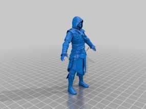刺客信条黑旗:爱德华·肯维 3D模型