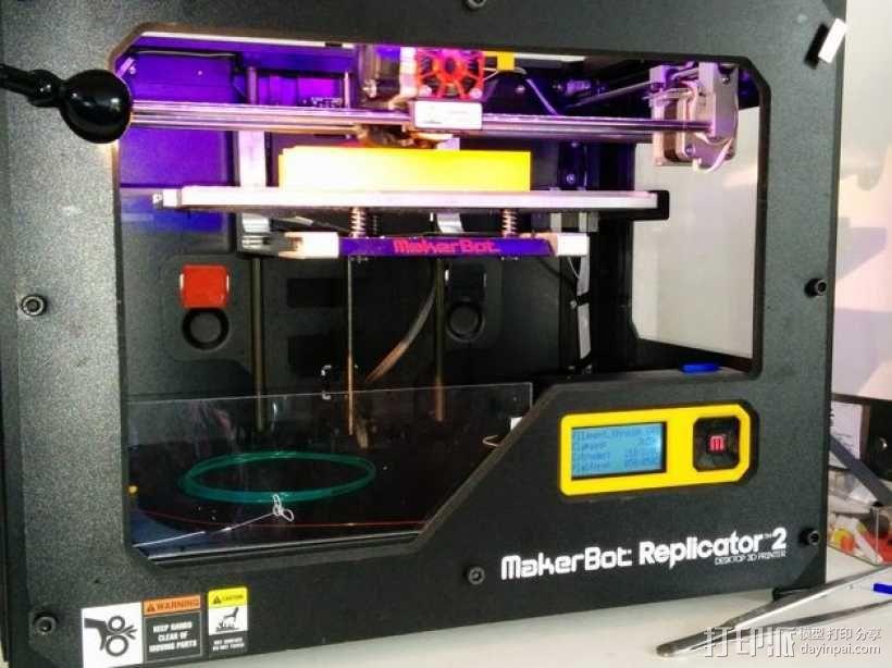 线轴架 组合式导线器 3D模型  图3