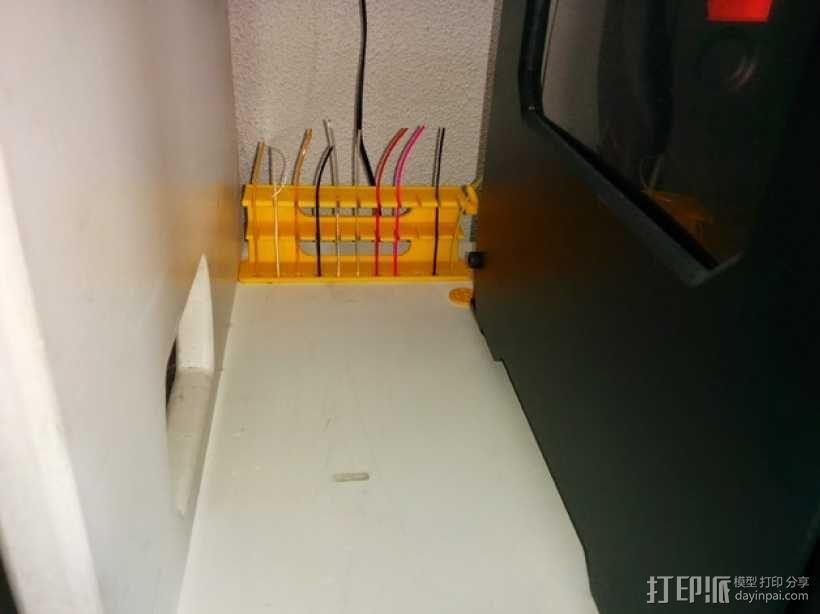 线轴架 组合式导线器 3D模型  图5