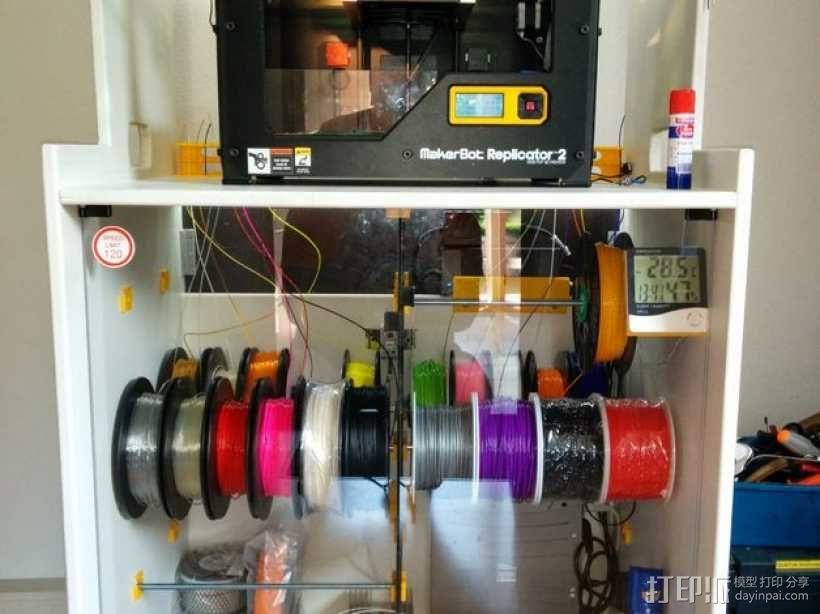 线轴架 组合式导线器 3D模型  图8