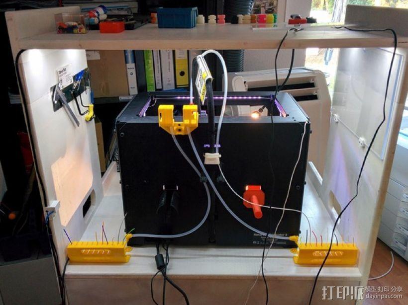 线轴架 组合式导线器 3D模型  图12