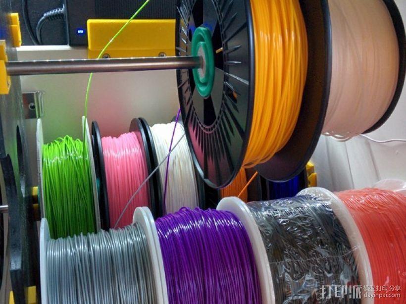 线轴架 组合式导线器 3D模型  图10