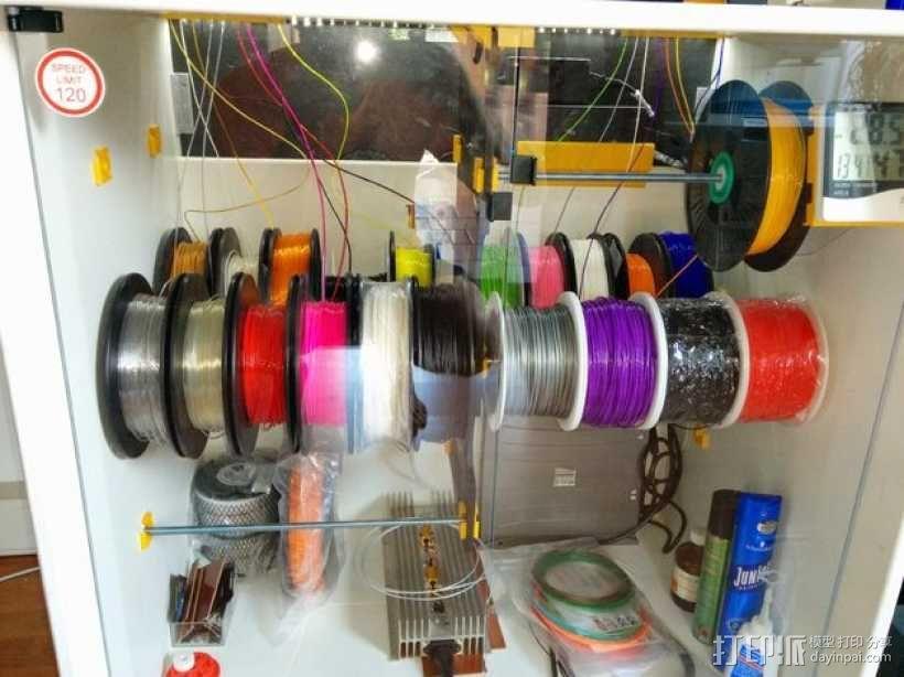 线轴架 组合式导线器 3D模型  图9
