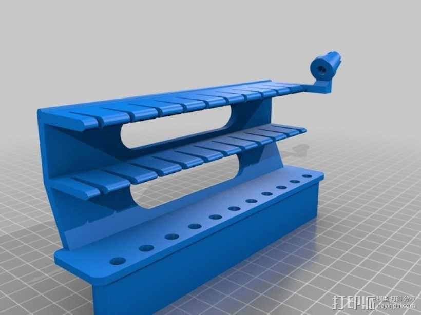 线轴架 组合式导线器 3D模型  图18