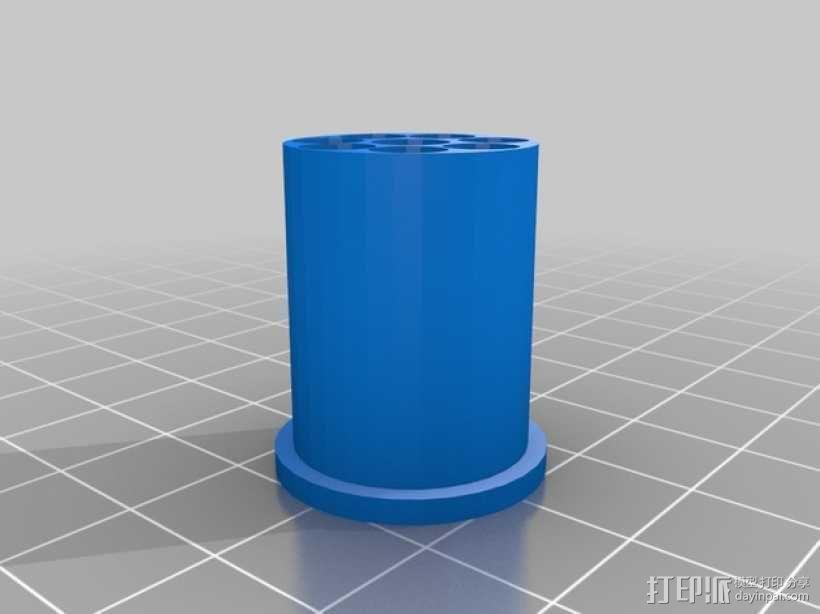 线轴架 组合式导线器 3D模型  图20