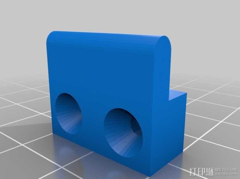 线轴架 组合式导线器 3D模型  图21