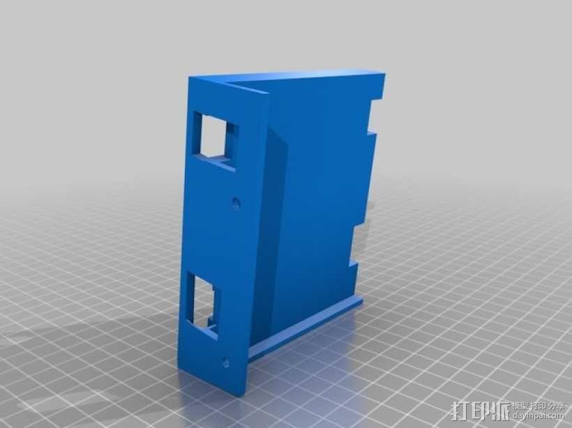 线轴架 组合式导线器 3D模型  图30