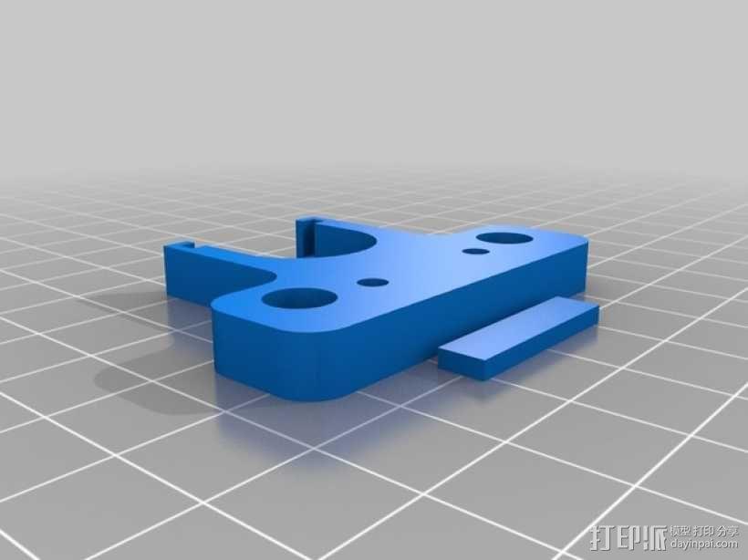 打印机散热装置 3D模型  图2