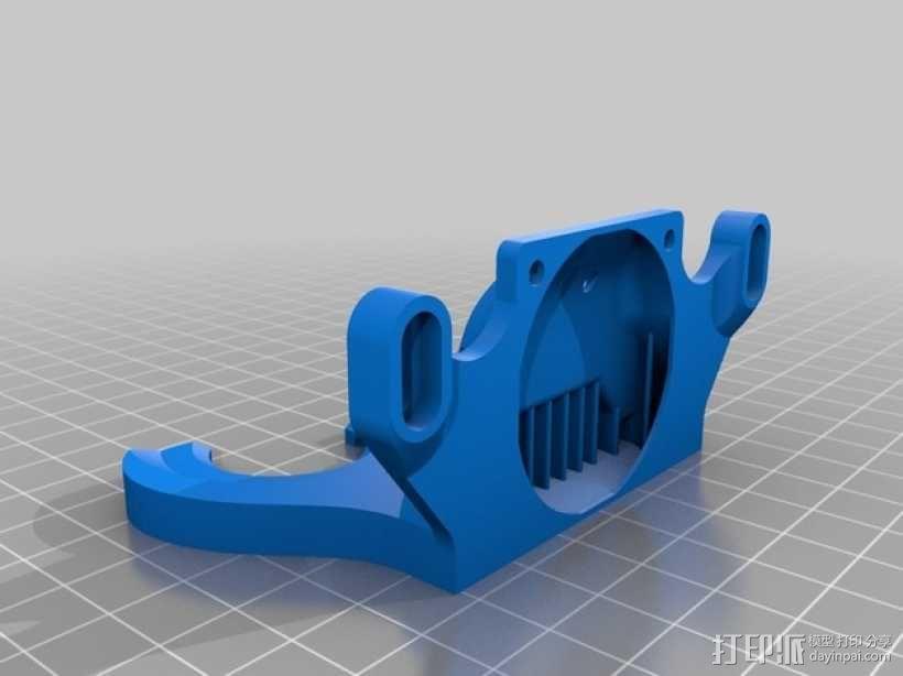 打印机散热装置 3D模型  图4