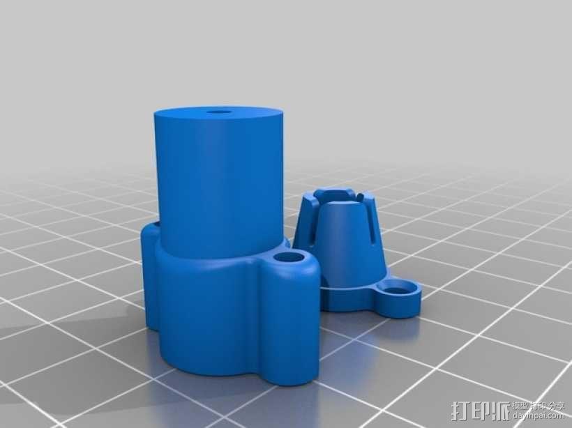 打印机散热装置 3D模型  图5