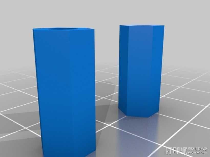 打印机散热装置 3D模型  图6