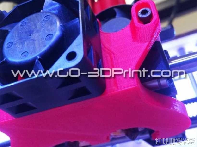 打印机散热装置 3D模型  图8